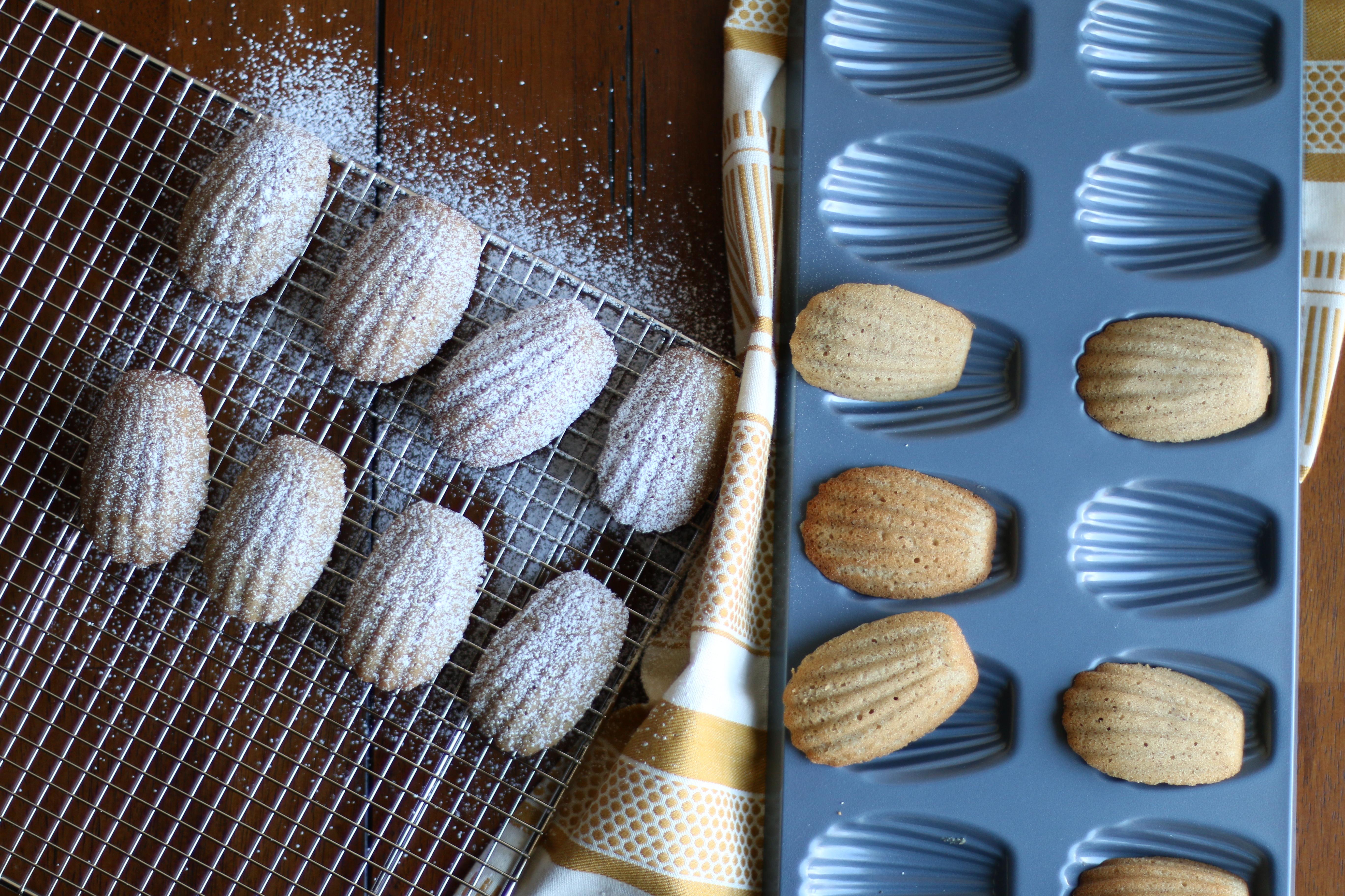 Spiced Madeleines Recipe