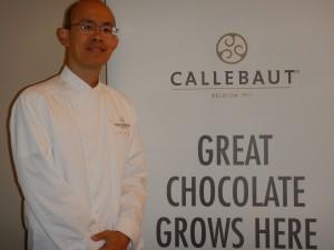 Chef Jose Lim of Callebaut Chocolate
