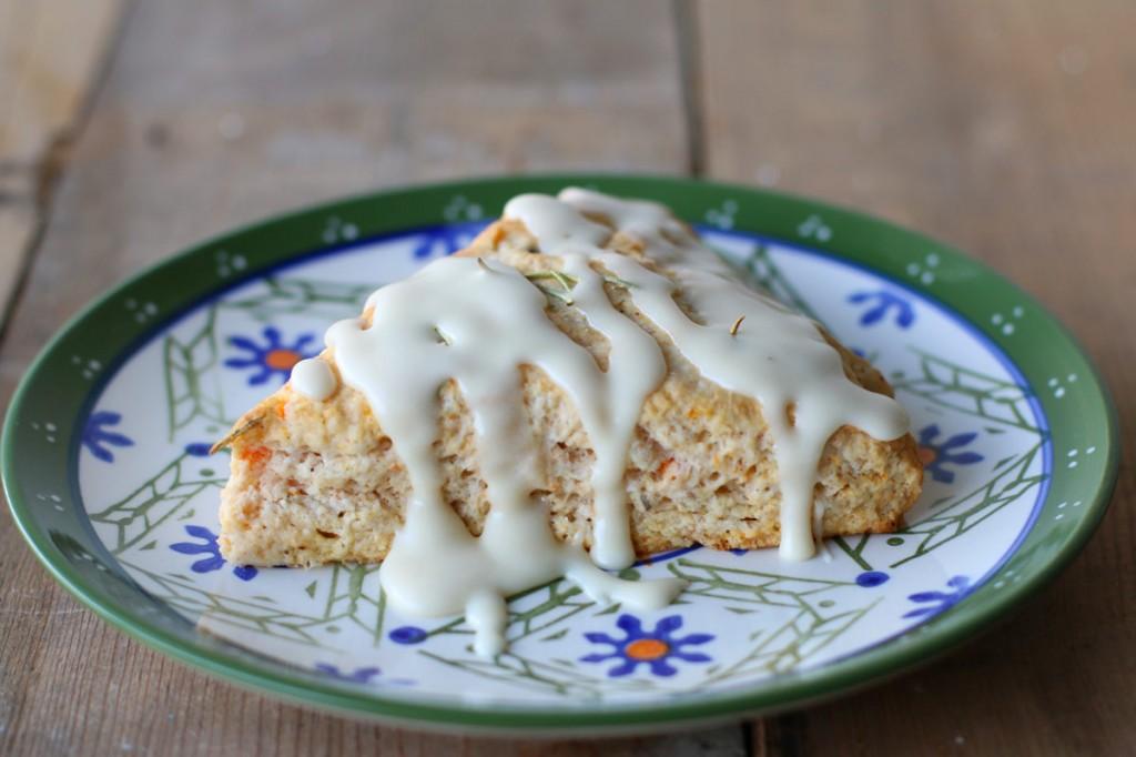 rosemary sweet potato scones