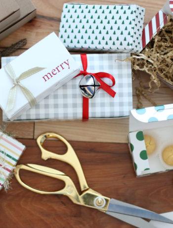 5 simple gift wrap ideas