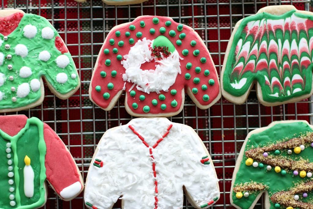 Ugly Sweater Sugar Cookies