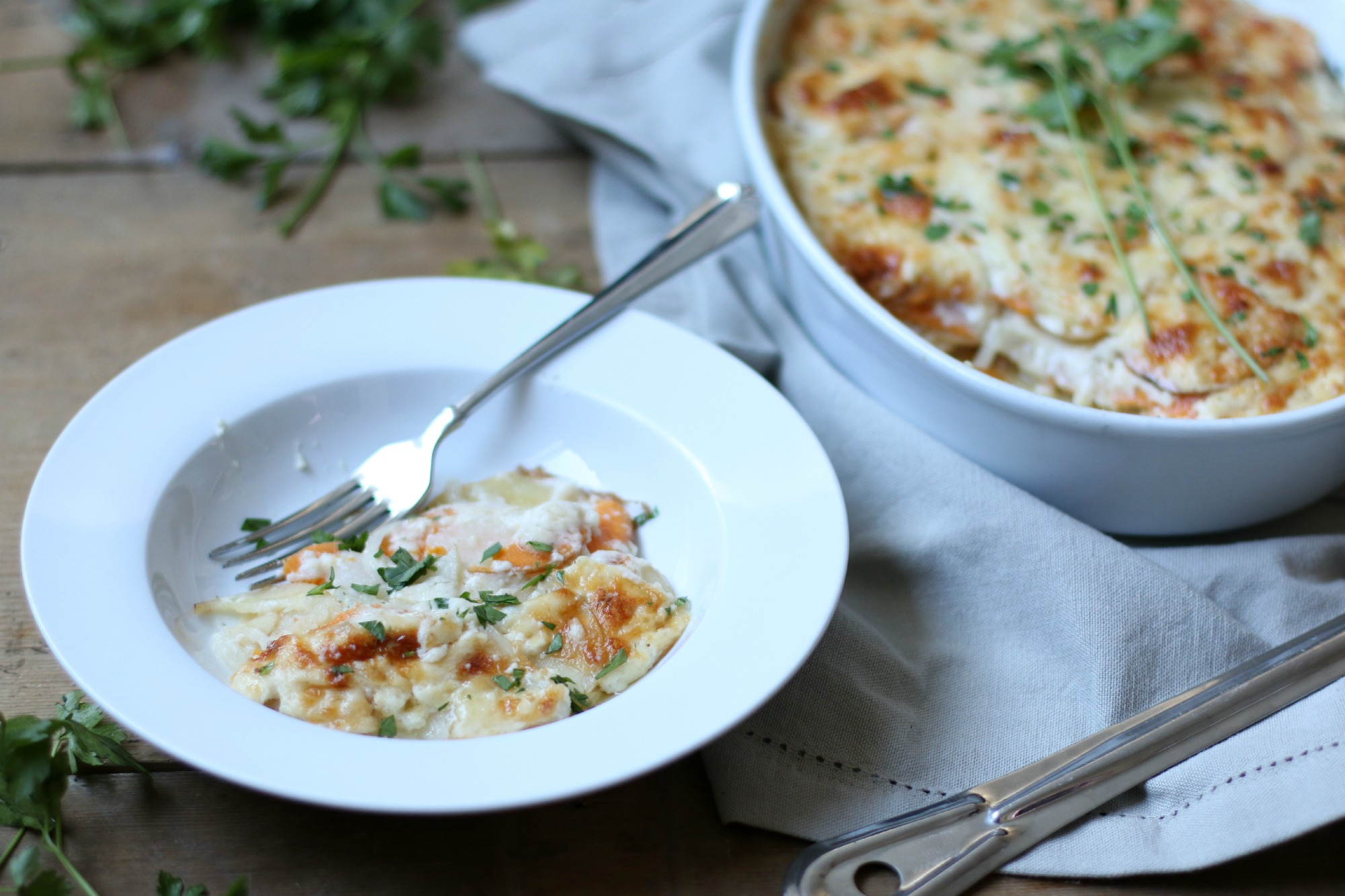 Dish of Au Gratin