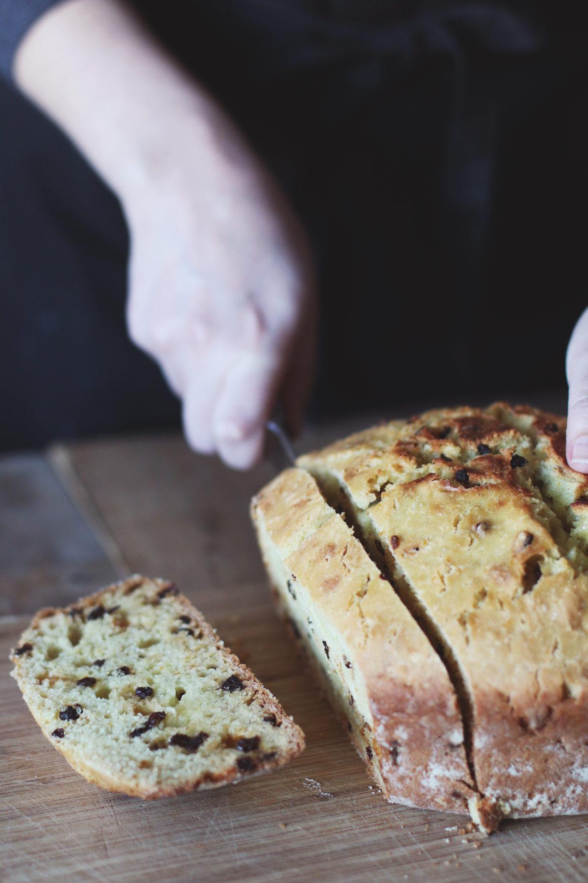Irish Soda Bread Slice