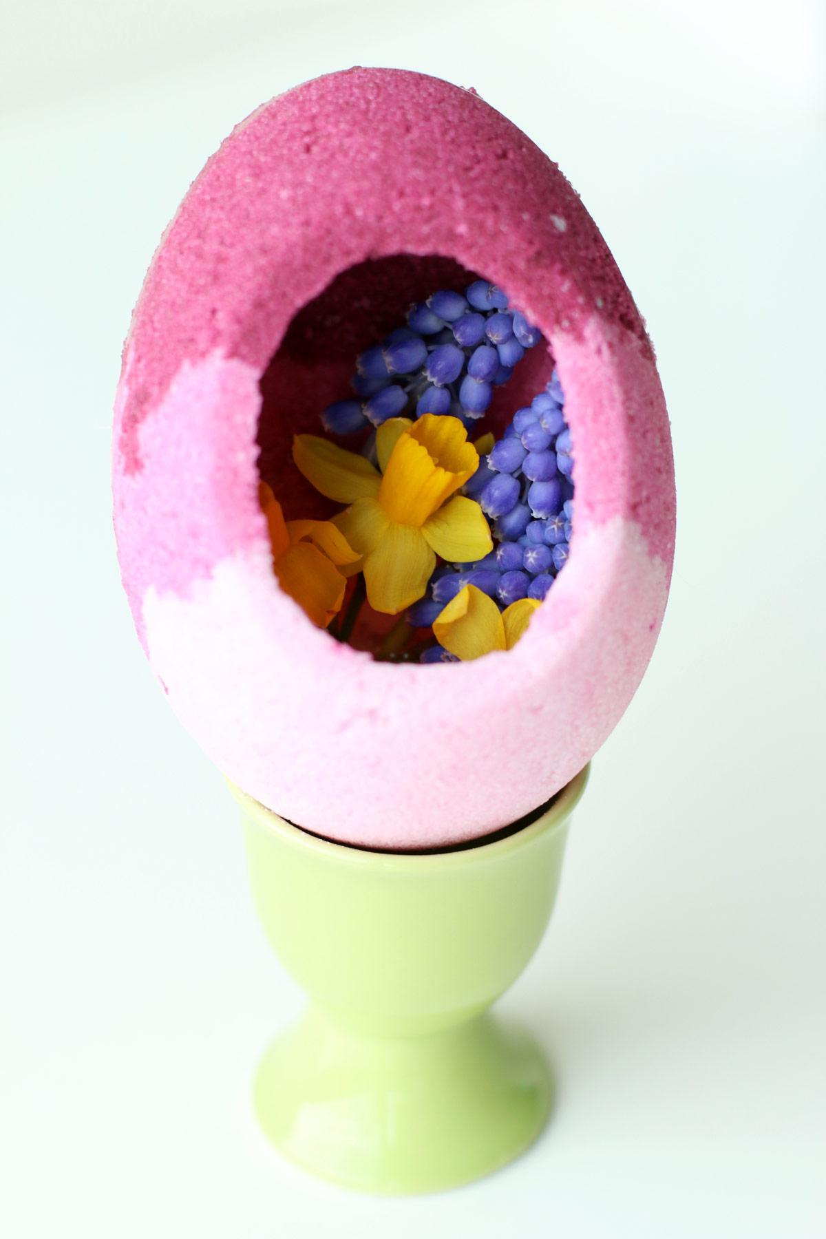 Ombre Sugar Egg