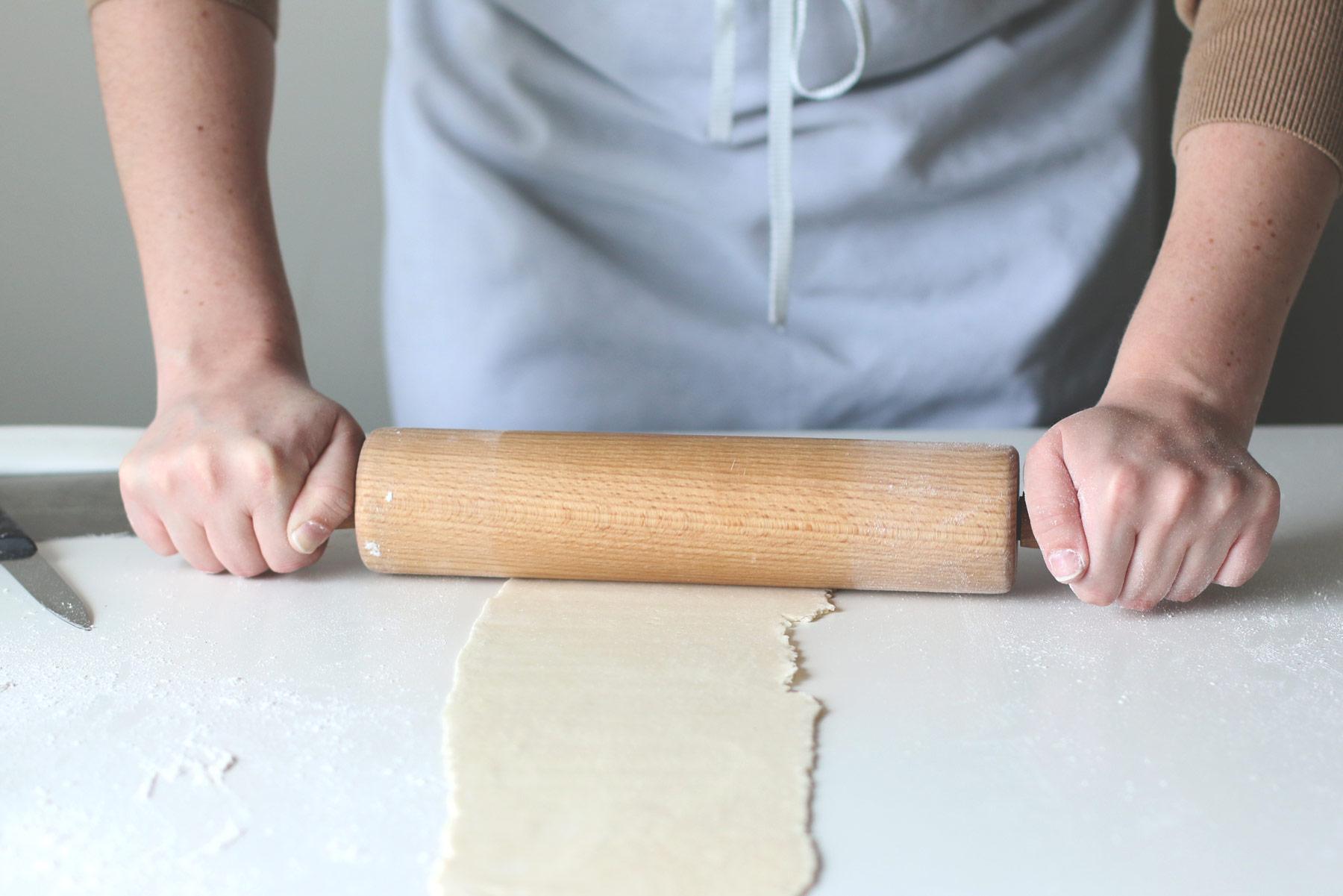 Rolling Matzah Bread