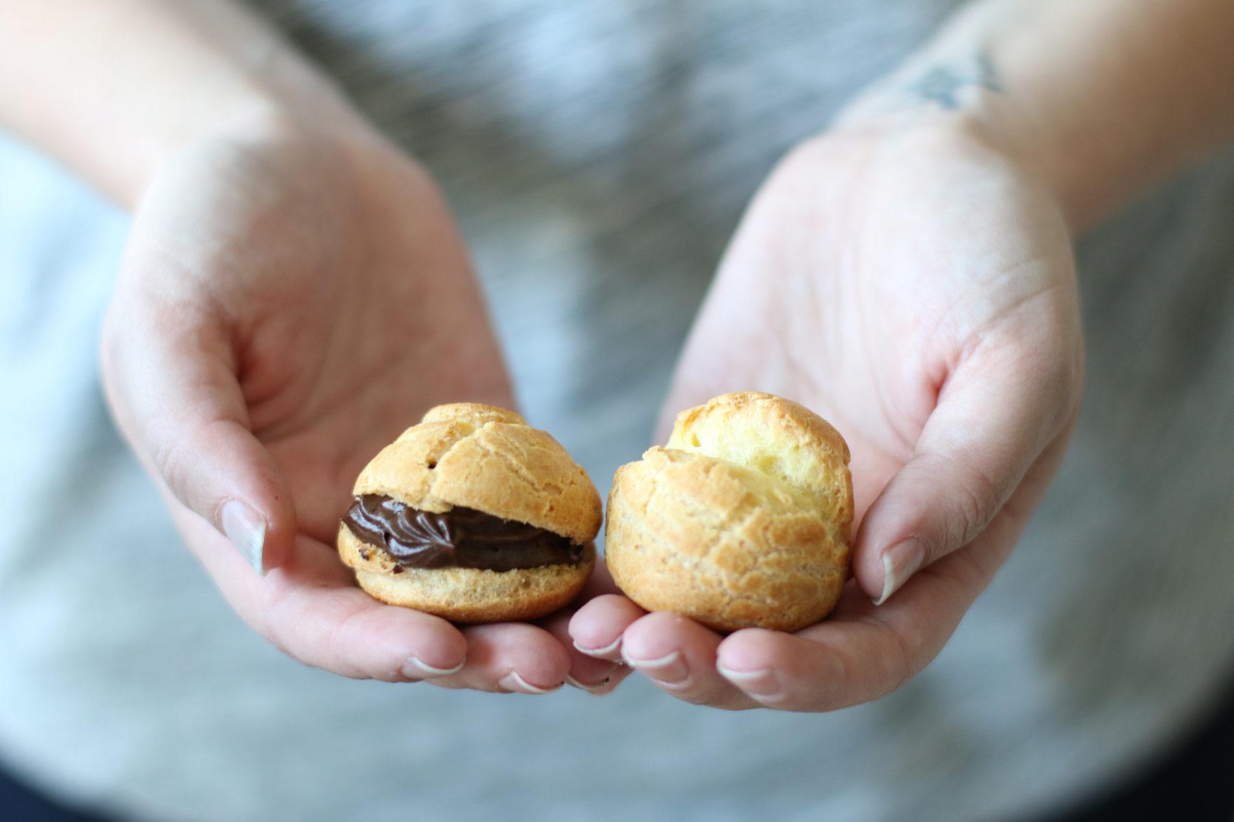 How to make a cream puff