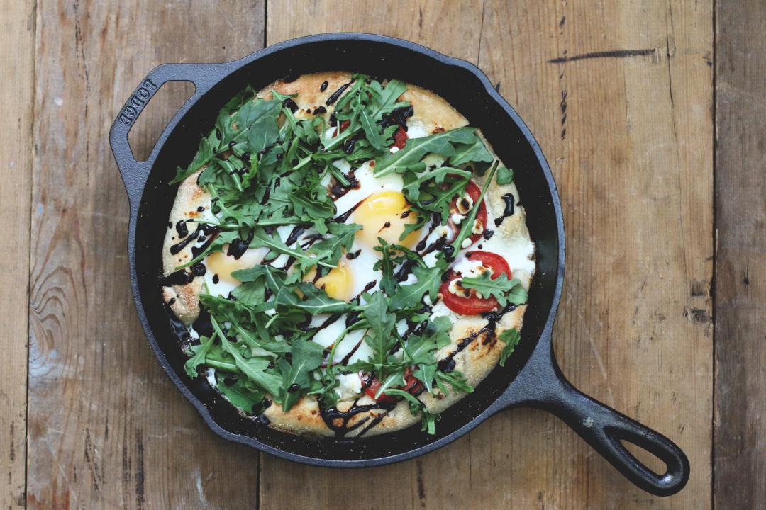 Cast Iron Skillet Pizza Recipe