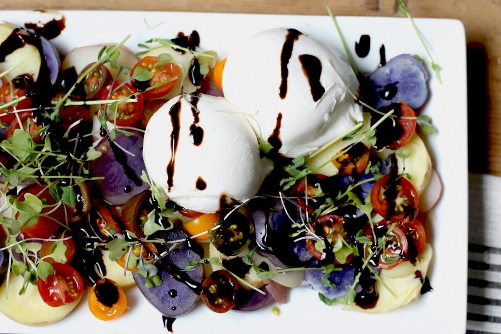 Potato and Heirloom Tomato Salad