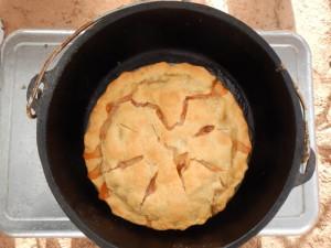 Helen - Dutch Oven Apple Pie